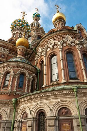 The Church of the Savior on Spilled Blood, Russia, St  Petersburg photo