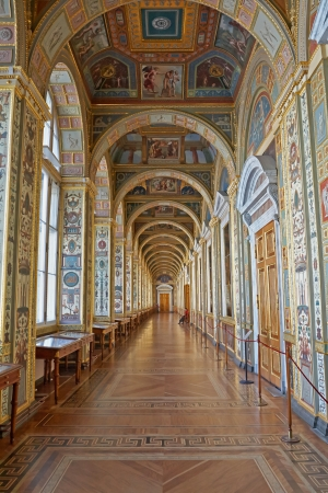 St. Petersburg, Russia - March 21: The State Hermitage, is a museum of art and culture in Saint Petersburg, Russia. 21, 2009