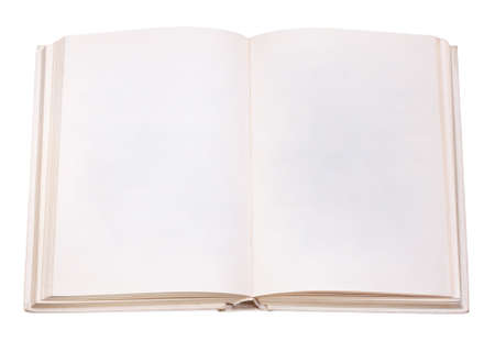 isolation: book open isolation, on a white background Stock Photo