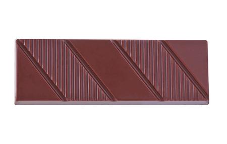 chocolate bars on white background