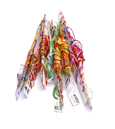 embroidery threads floss photo