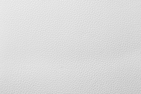 Texture of white leather, seam, close-up photo