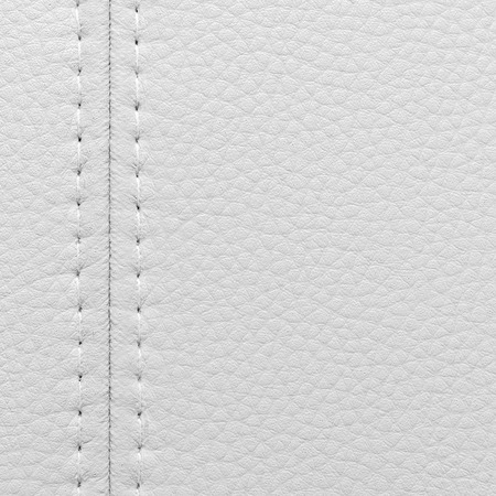 white leather: Texture white leather for background