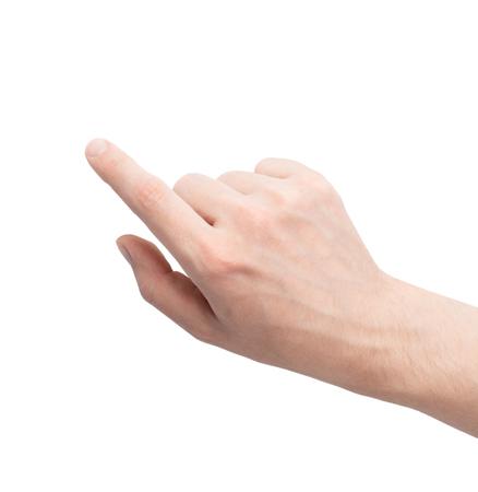 raton: El gesto de hacer clic en el ratón