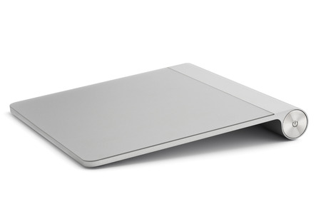 trackpad: Computer trackpad, isolated on white background