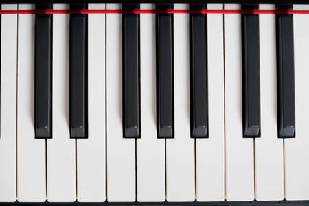 hymnal: Black piano close-up, background