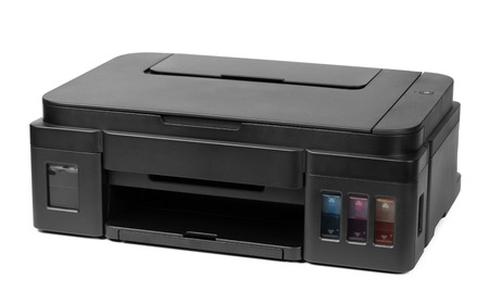 Printer isolated on white background, isolated