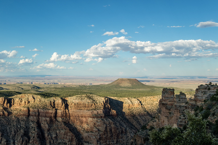 south rim: Epic Sunset view of the South Rim at Grand Canyon National Park, Desert Viewpoint, Arizona, United States