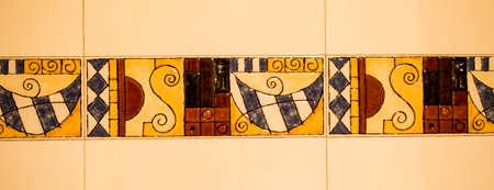 bathroom: Bathroom tiles Stock Photo