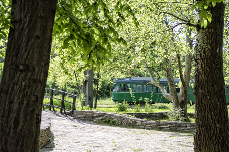 tramway: Tramway in the woods