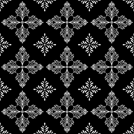 Abstract patterns cross doodle. Illusztráció