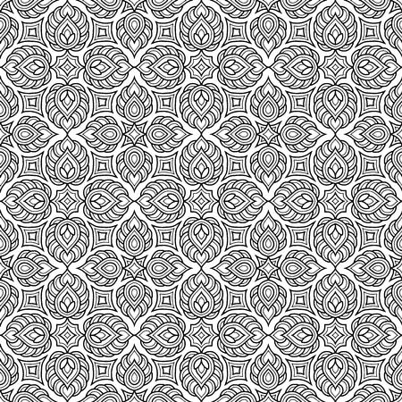 Abstract pattern for coloring doodle Sketch Vektorgrafik