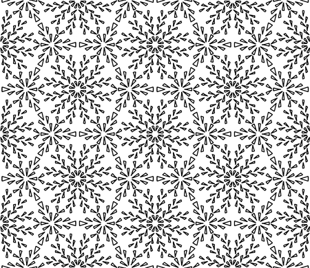Abstract pattern for coloring doodle Sketch