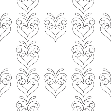 Abstract patterns doodle Sketch black and whit