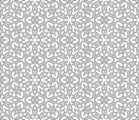 Abstract pattern for coloring doodle Sketch good mood Ilustrace