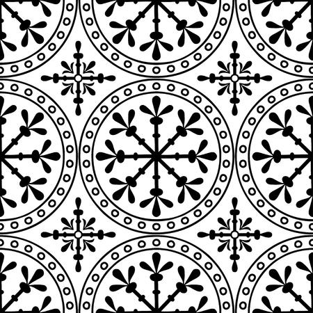 Motifs abstraits Croix religion noir et blanc
