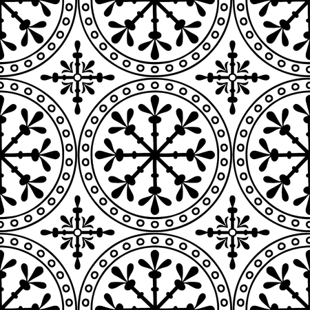 Abstract patterns Cross black and white religion