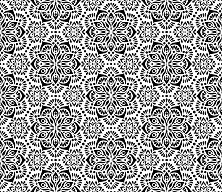 Abstract pattern black and whit doodle Sketch. Good for creative and greeting cards, posters, flyers, banners and covers.