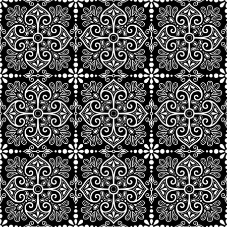 Abstract patterns Cross doodles black and whit Sketch Reklamní fotografie - 132028274