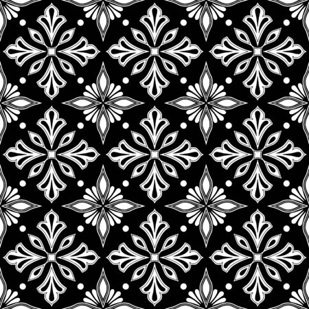 Abstract patterns Cross doodles black and whit Sketch Reklamní fotografie - 132028275