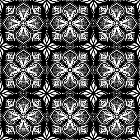 Abstract patterns Cross doodles black and whit Sketch Reklamní fotografie - 132028278