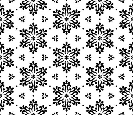 Abstract pattern seamless black and whit doodle Sketch. Good for creative and greeting cards, posters, flyers, banners and covers. Vektoros illusztráció