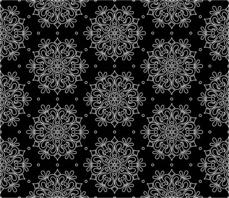 Abstract pattern seamless black and whit doodle Sketch. Good for creative and greeting cards, posters, flyers, banners and covers. Foto de archivo - 130150712