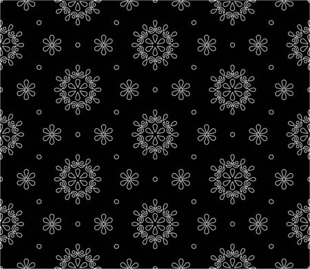 Abstract pattern seamless black and whit doodle Sketch. Good for creative and greeting cards, posters, flyers, banners and covers. Ilustração