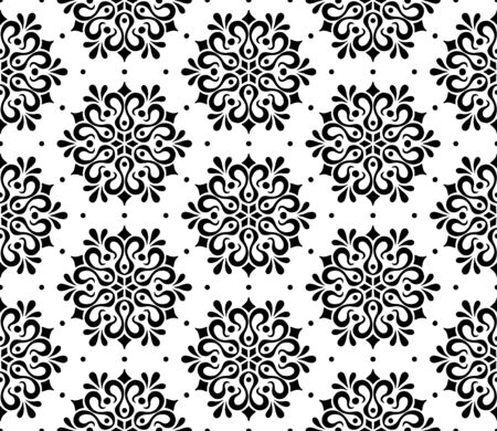 Abstract pattern seamless black and whit doodle Sketch. Good for creative and greeting cards, posters, flyers, banners and covers. Foto de archivo - 130150757
