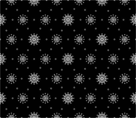 Abstract pattern seamless black and whit doodle Sketch. Good for creative and greeting cards, posters, flyers, banners and covers. Illusztráció
