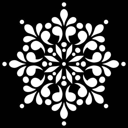 Mandala pattern white doodles sketch good mood