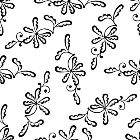 Abstract patterns seamless Stencil doodle sketch good mood