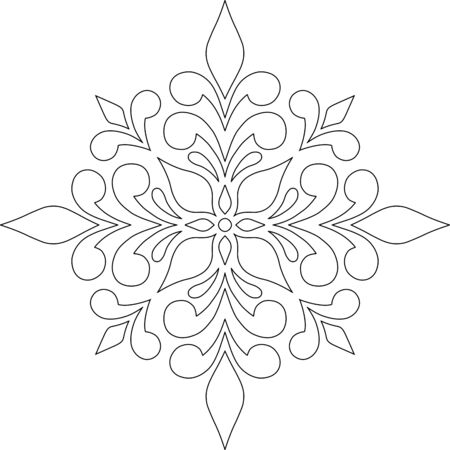 Cross for coloring. Suitable for decoration doodles sketch 版權商用圖片 - 143111571
