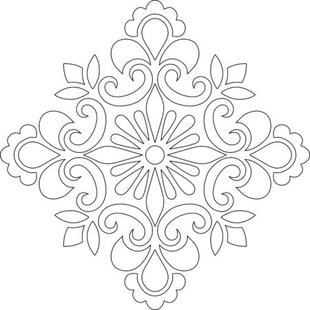 Cross for coloring. Suitable for decoration doodles sketch 版權商用圖片 - 143111573