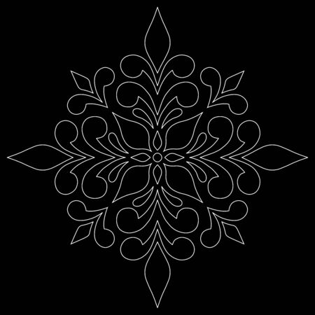 Cross doodle sketch black and white religion. Suitable for decoration 版權商用圖片 - 143111808