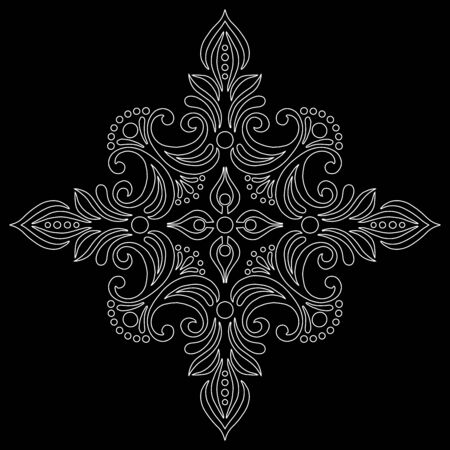 Cross doodle sketch black and white religion. Suitable for decoration 版權商用圖片 - 143111817