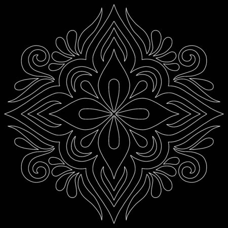 Cross doodle sketch black and white religion. Suitable for decoration 版權商用圖片 - 143111818