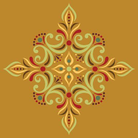 Cross doodle sketch color religion. Suitable for decoration