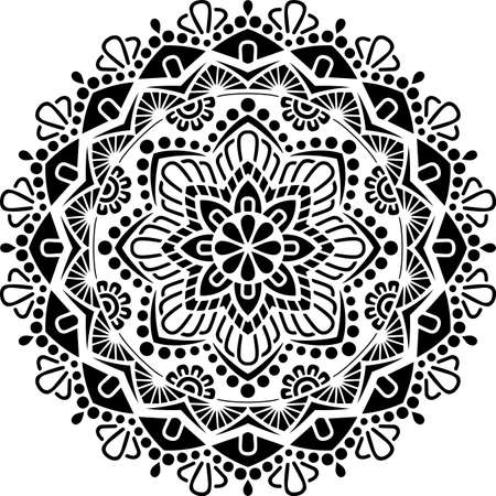 Mandala Pattern Stencil doodles sketch good mood