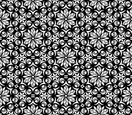Abstract patterns seamless black and white doodle Sketch. Good for creative and greeting cards, posters, flyers, banners and covers Banco de Imagens - 154651239