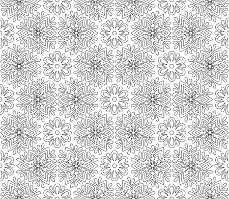 Abstract pattern for coloring doodle Sketch good mood For children and adults Relaxation Leisure Pleasure Banco de Imagens - 154651253