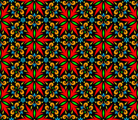 Abstract patterns seamless color doodle Sketch Good for creative and greeting cards, posters, flyers, banners and covers Banco de Imagens - 154923753