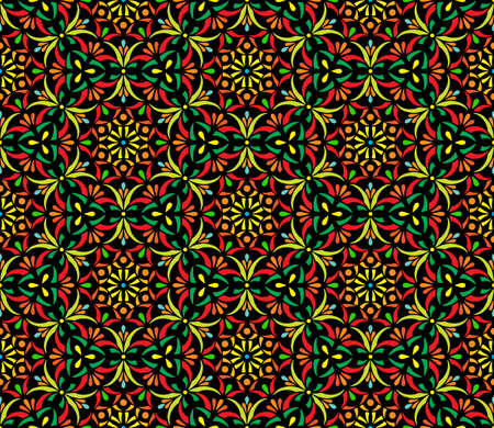 Abstract patterns seamless color doodle Sketch Good for creative and greeting cards, posters, flyers, banners and covers Banco de Imagens - 154923755