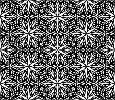 Abstract patterns seamless black and white doodle Sketch. Good for creative and greeting cards, posters, flyers, banners and covers Banco de Imagens - 154923760