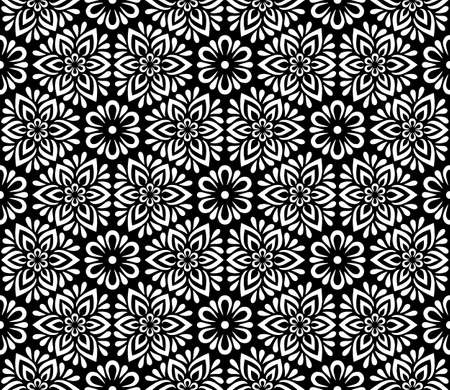 Abstract patterns seamless black and white doodle Sketch. Good for creative and greeting cards, posters, flyers, banners and covers Banco de Imagens - 154923761