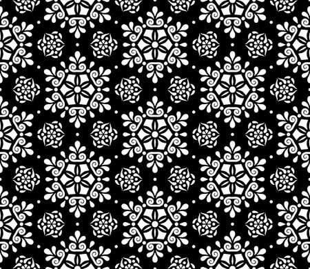 Abstract patterns seamless black and white doodle Sketch. Good for creative and greeting cards, posters, flyers, banners and covers Banco de Imagens - 154923763