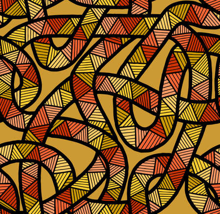 Abstract patterns seamless color doodle Sketch Good for creative and greeting cards, posters, flyers, banners and covers 矢量图像