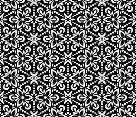 Abstract patterns seamless black and white doodle Sketch. Good for creative and greeting cards, posters, flyers, banners and covers Illustration