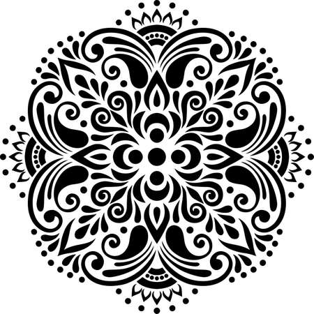 Cross religion doodle sketch black and white. Suitable for decoration