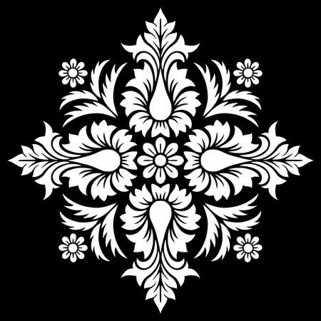 Religion cross doodle sketch black and white. Suitable for decoration. Stencil